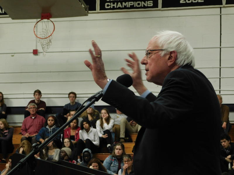 BERNIE SANDERS SPEAKS OUT TO TEENS AT A TOWN HALL ABOUT OPIOIDS